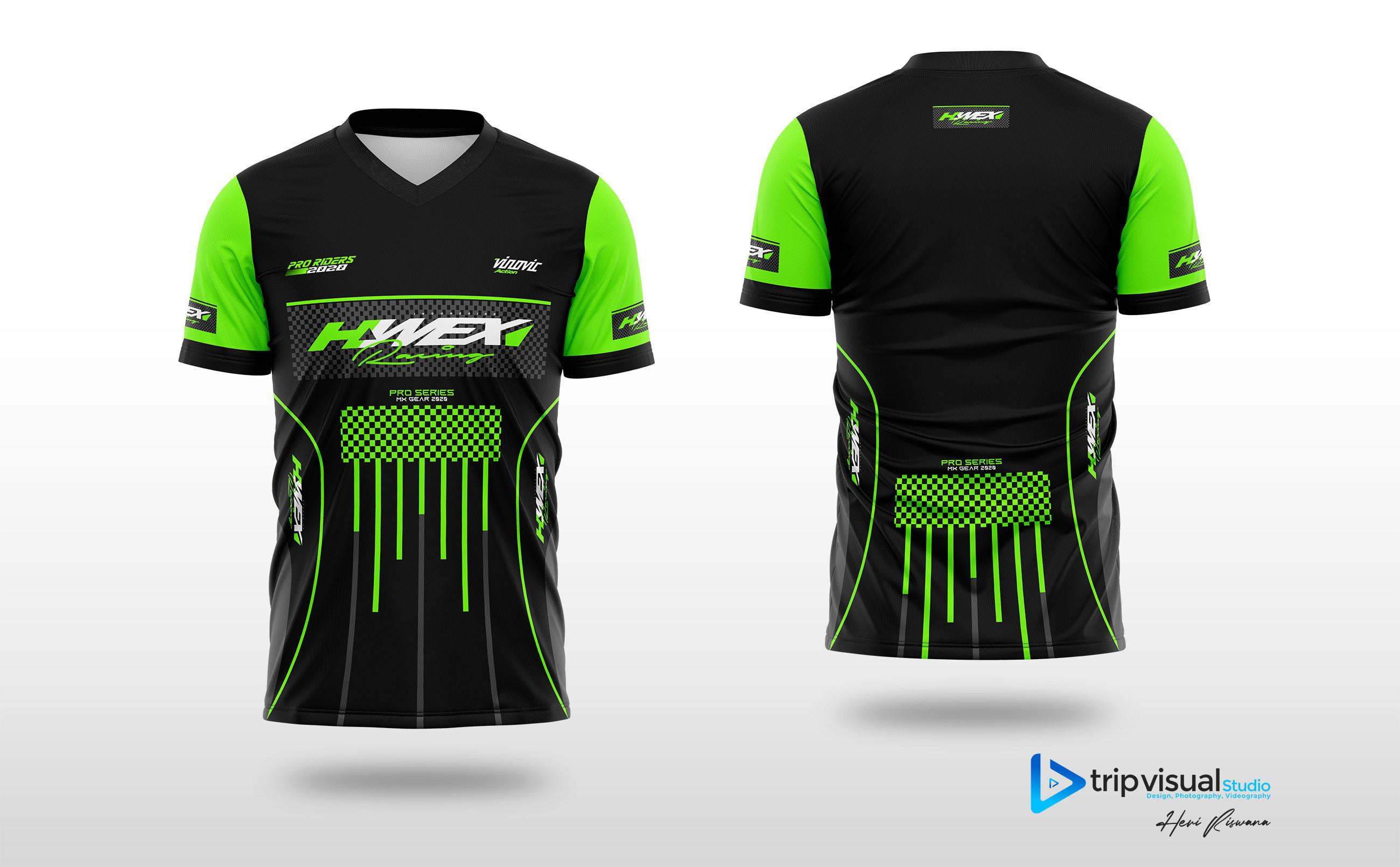 Make A Short Sleeve Motocross Jersey Design By Netheri