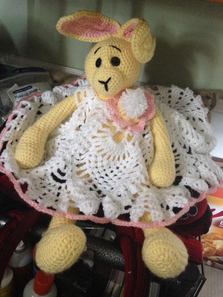 Crochet Set of Clothes for Ian Teddy Bear- English, Français ...   960x720