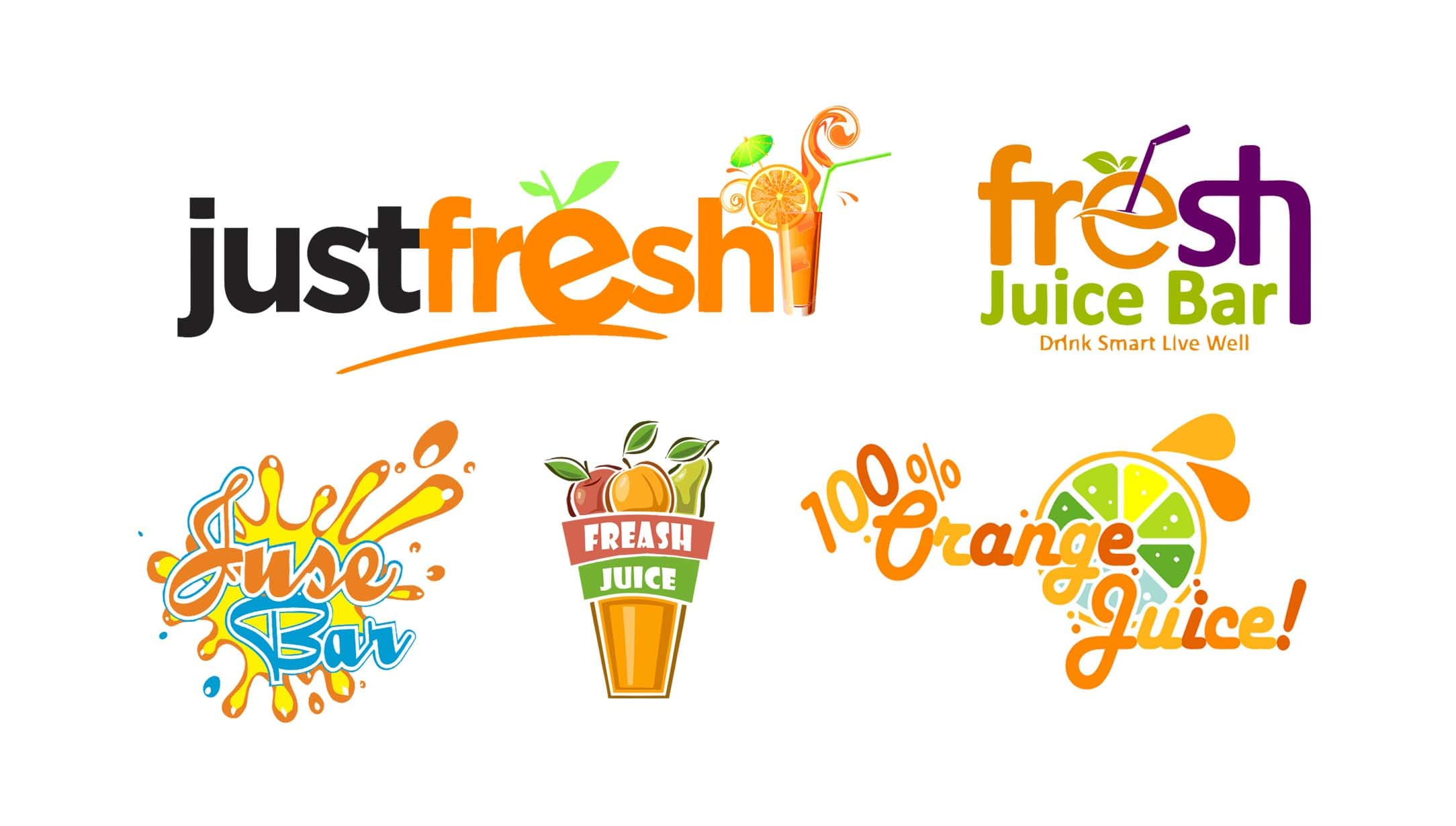 make awesome juice shake water fruit logo by suroviakterhr00 make awesome juice shake water fruit logo