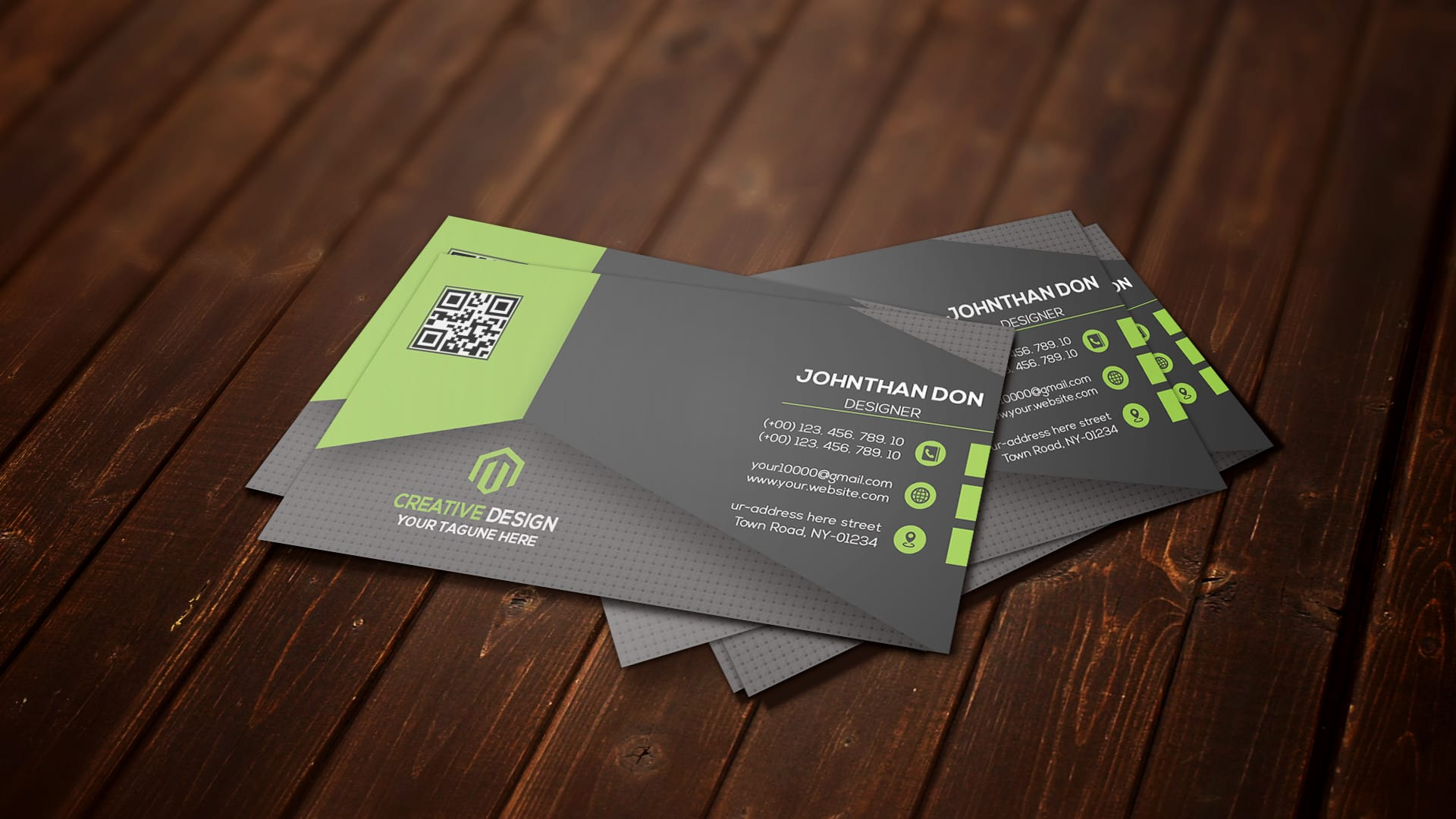 Design professional business card with creative idea by Hrhasan96