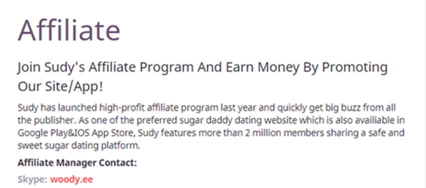 best dating affiliate programme