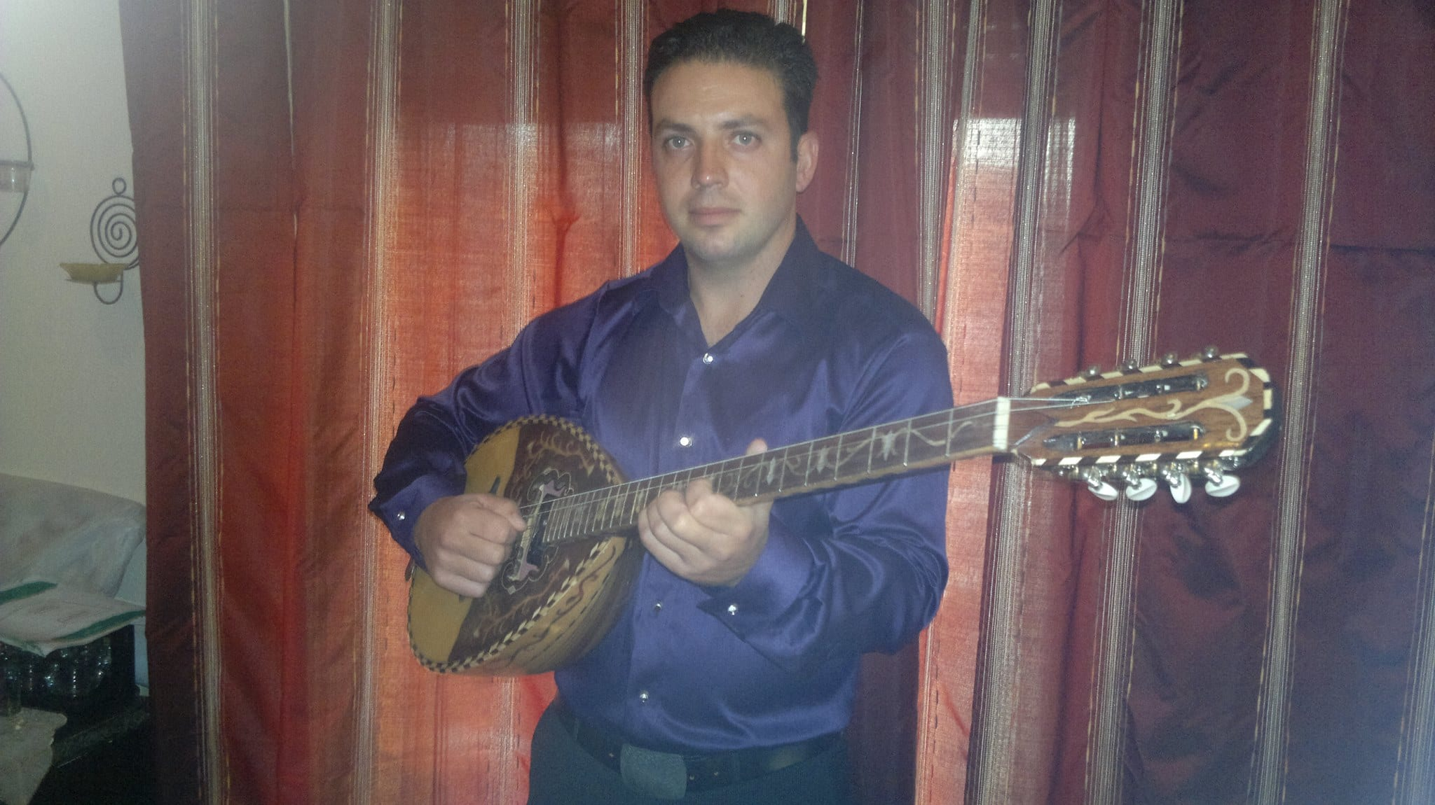 record music with my greek bouzouki or make online lessons