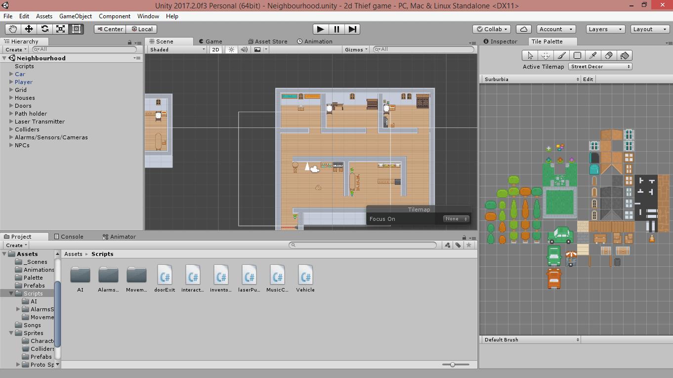 Unity Tilemap Scripting