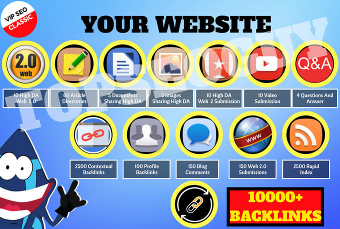 5000 different search engines Directories Submission website SEO indexing google