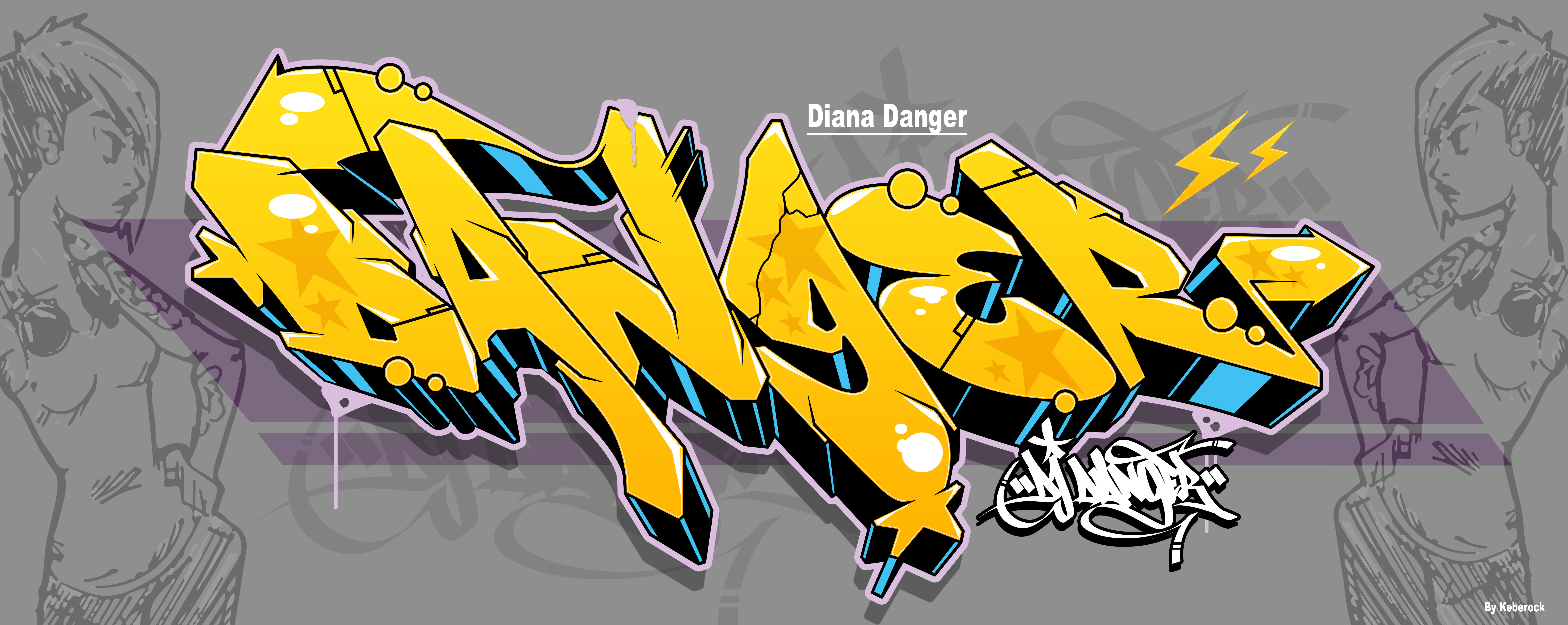 Creat best name graffiti logo for you by keberproduct