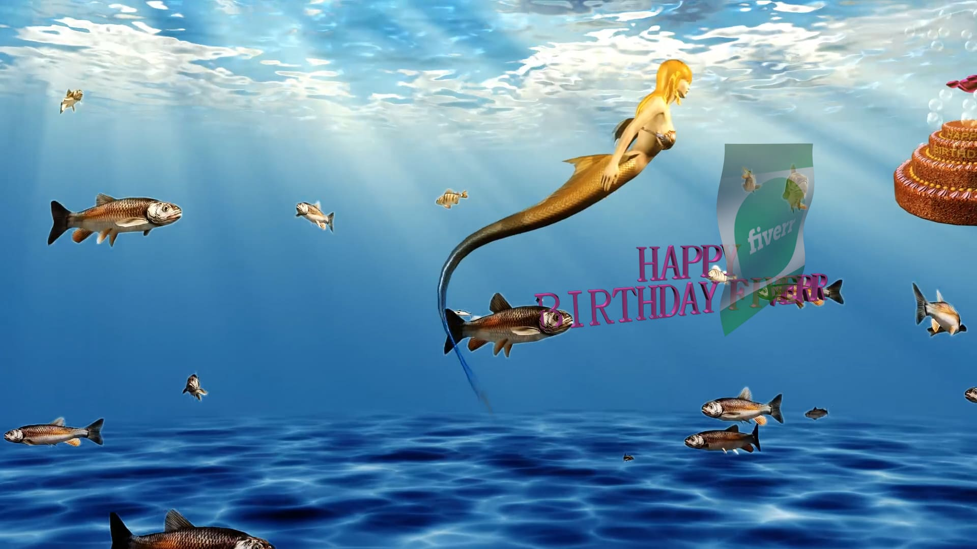 I Will Make Exclusive Funny Happy Birthday Greeting Animated Video