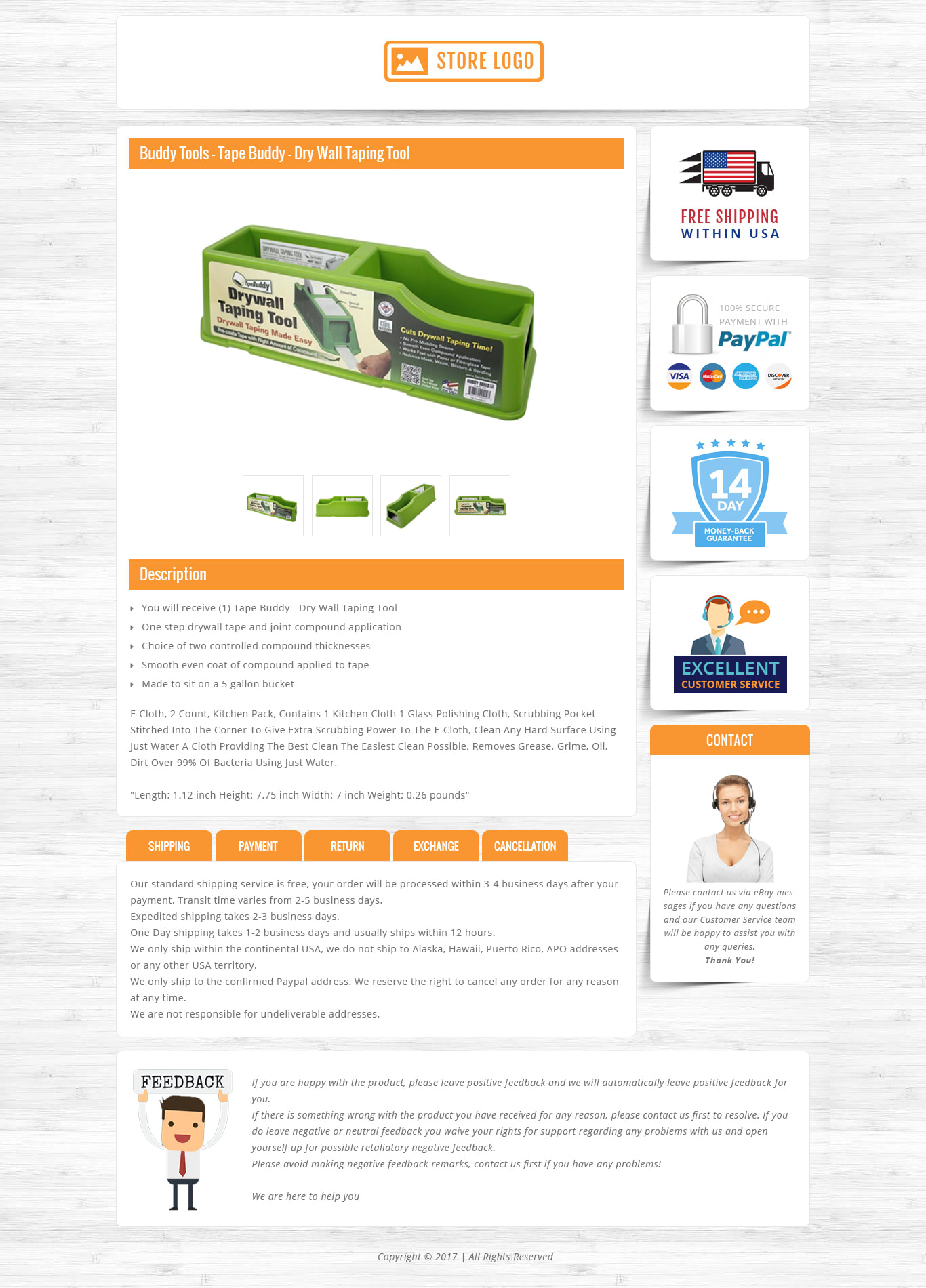 8e24df0c55 Design custom ebay store and responsive listing template to boost your sale  by Jayminmistry