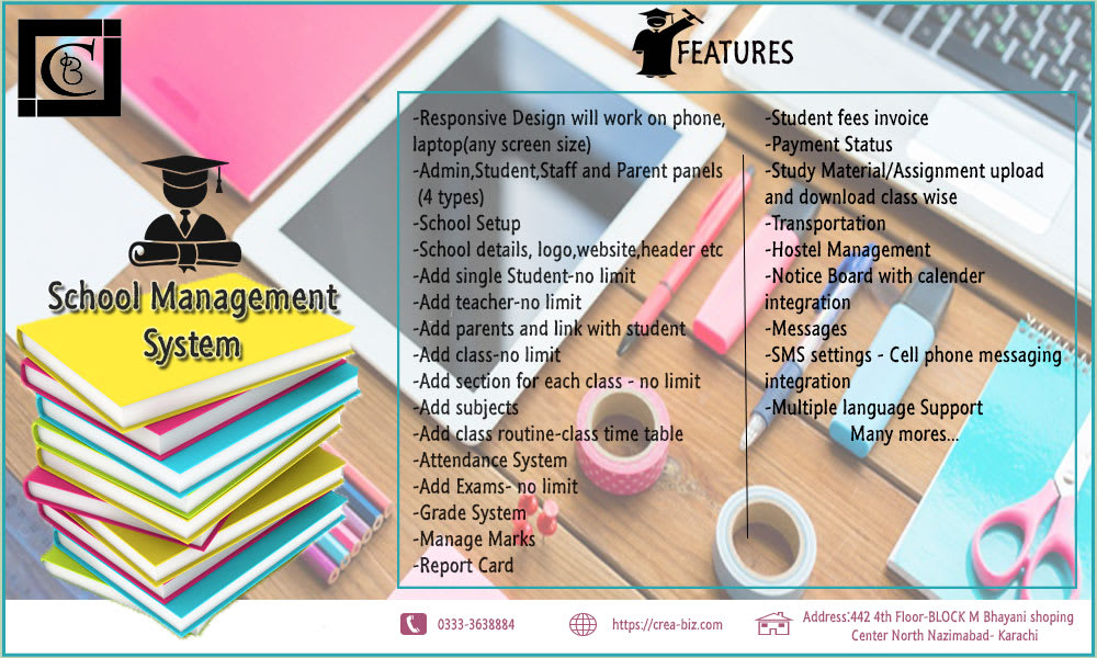 School Hospital Sales And Other Management System Erp By Irtizarizvi