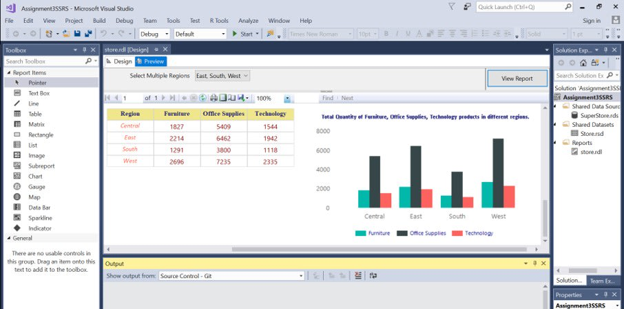 analyze create reports and presentations of your dataset