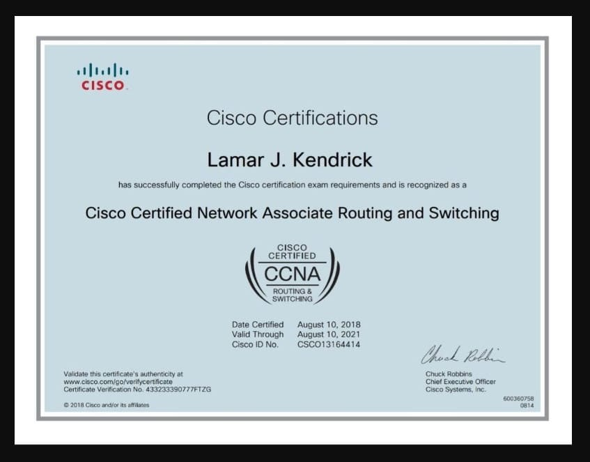 Tutor You For Ccent Or Ccna R And S Certification By Lamarkendrick