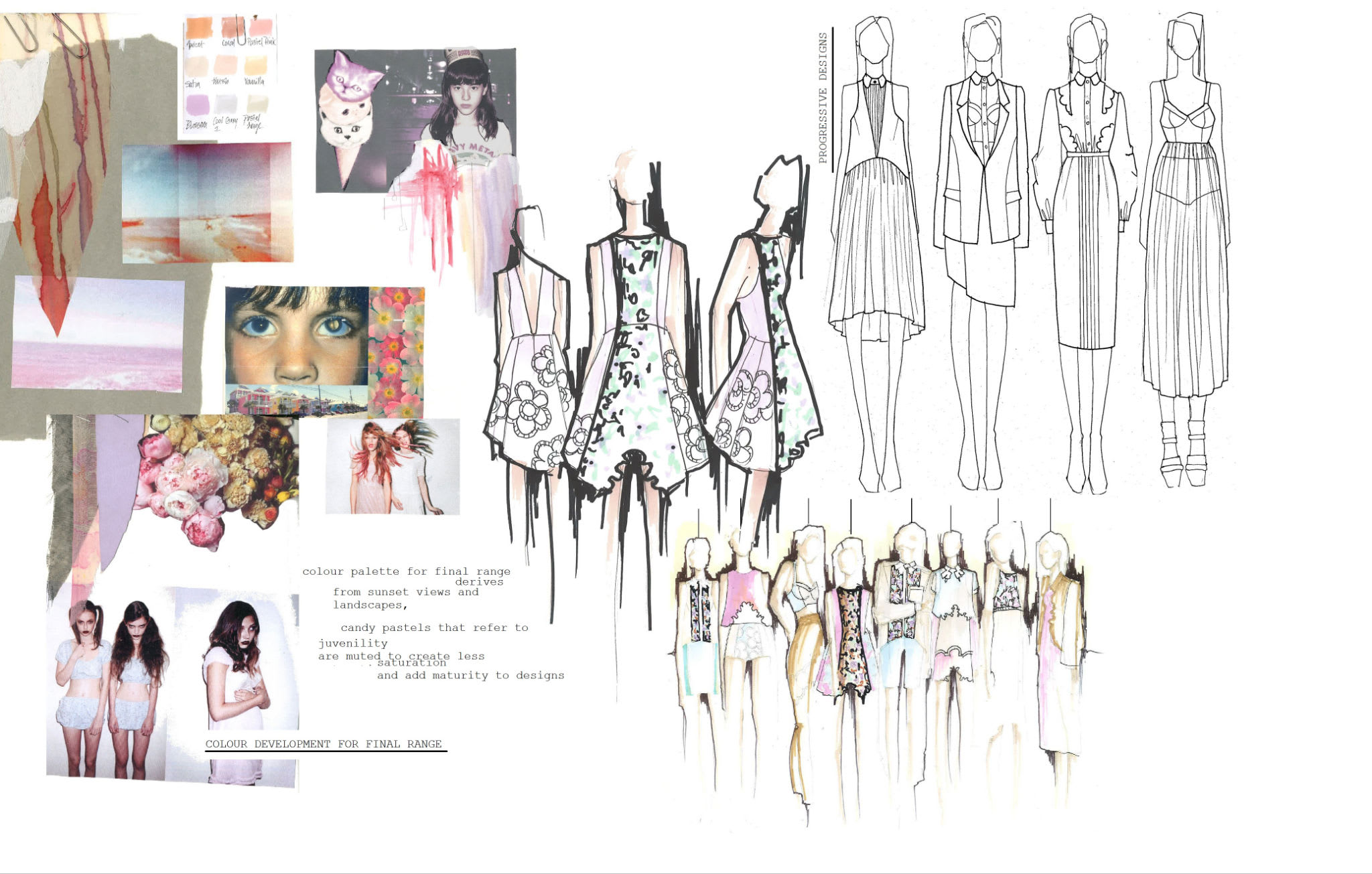 Create Your Fashion Concept Mood Board By Chalsie12
