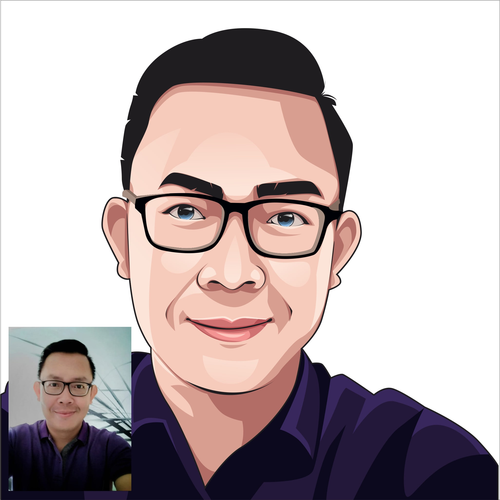 Make Best Cartoon Or Vector Art With Your Picture By Tlioart123 Fiverr