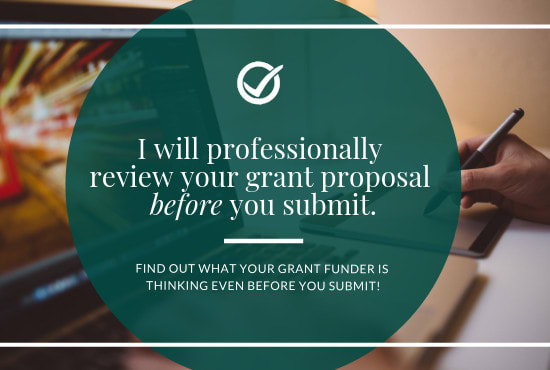 Review Your Grant Application Before You Submit To A Funder