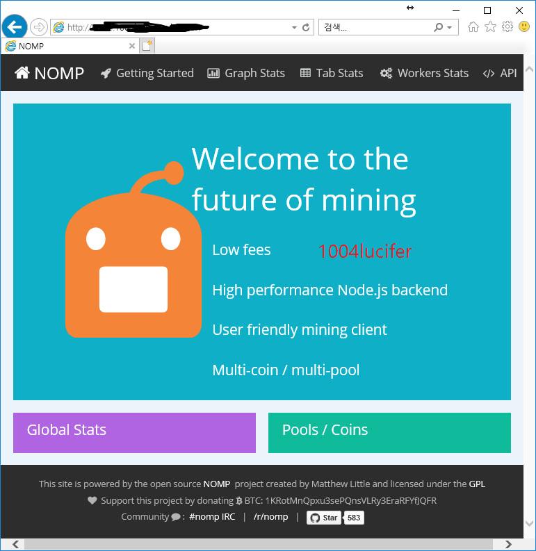 setup cryptocurrency mining pool