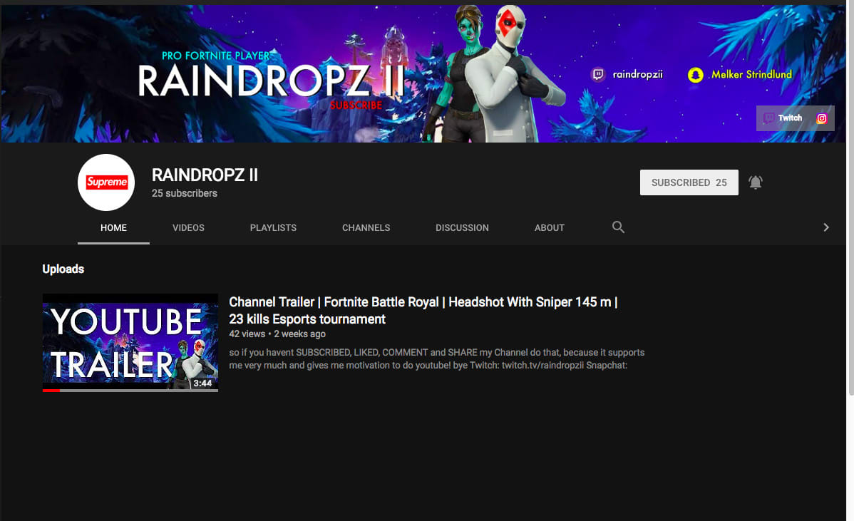 Fortnite Sniper Youtube Banner Make You A Youtube Banner By Raindropzii Fiverr