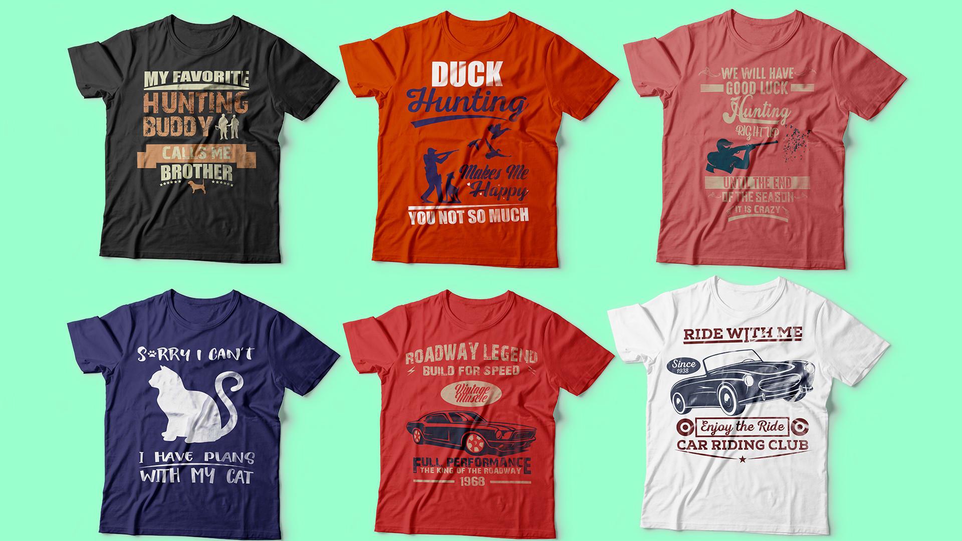 Create Awesome Custom T Shirt Design By Mustafizur