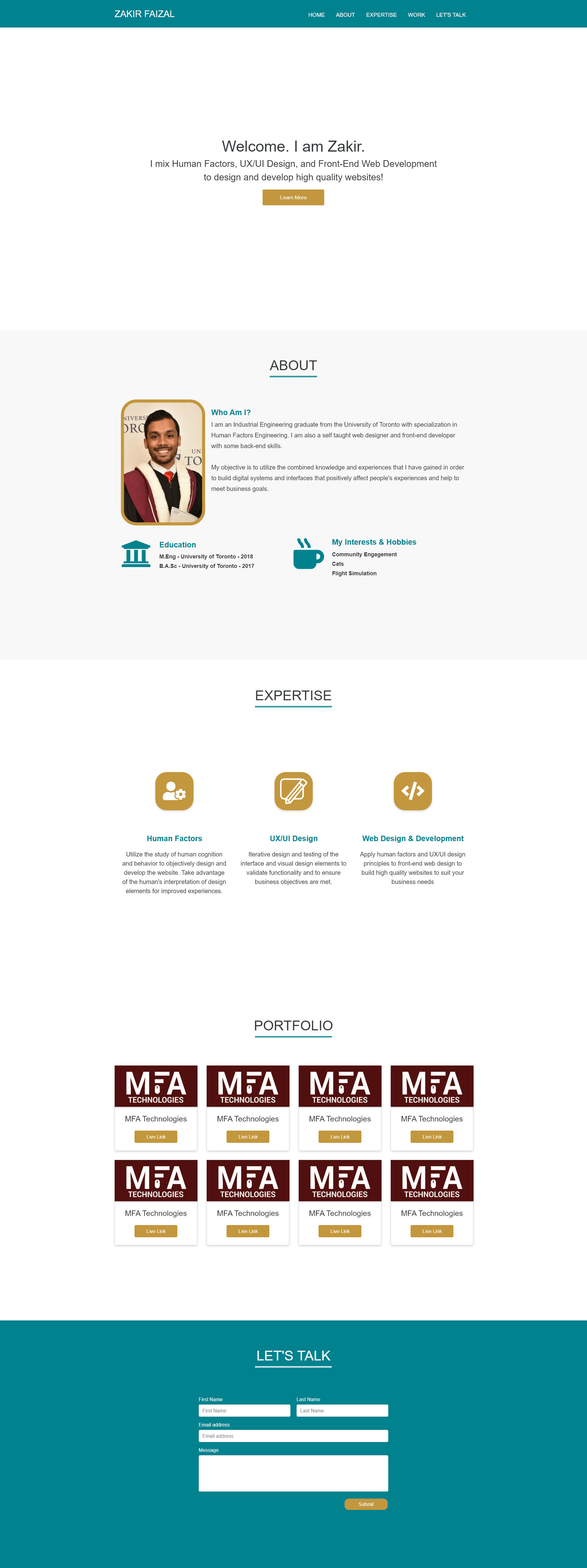 Design And Develop Your Business Website By Zakiruxd