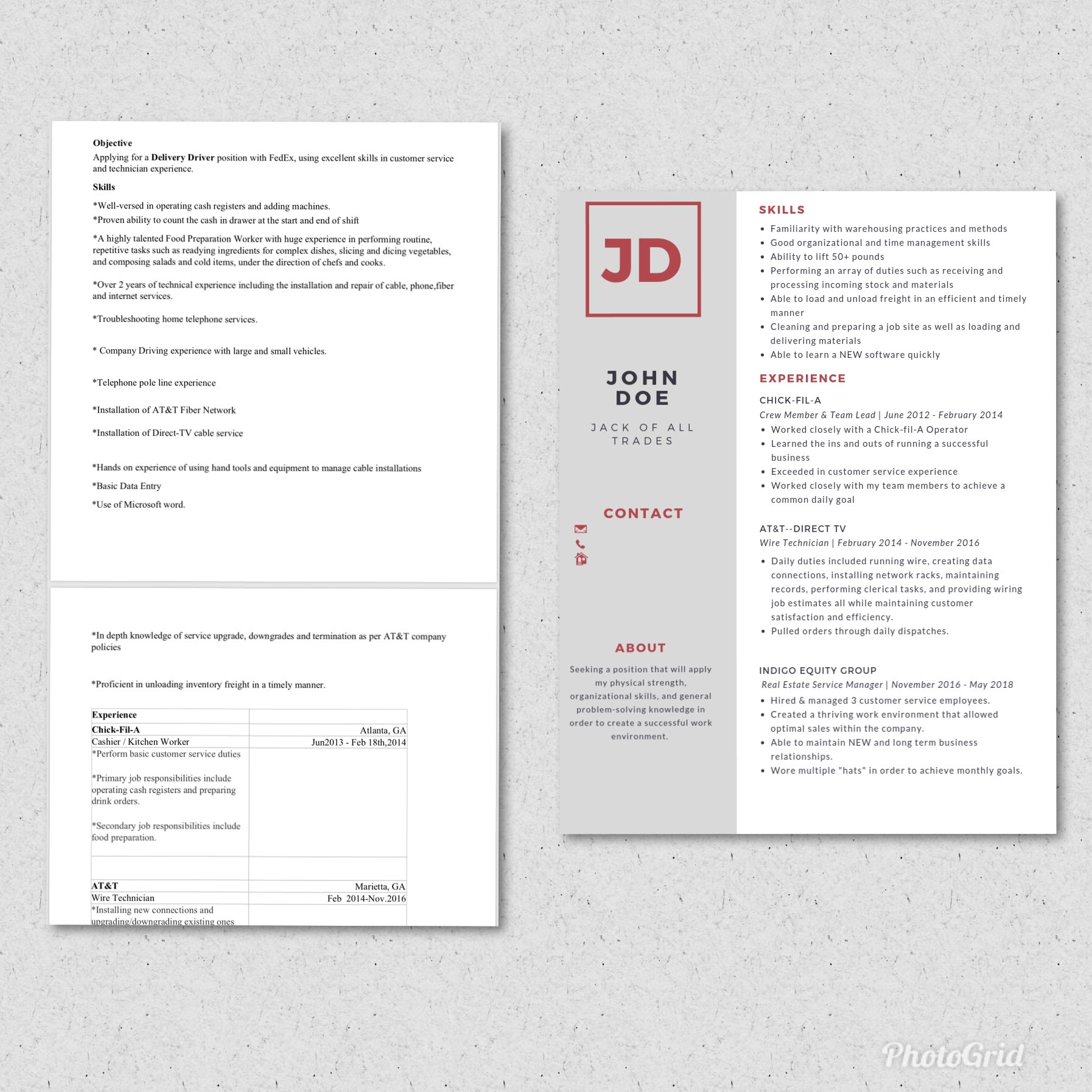 Write,rewrite, design your cv, resume, cover letter and more by ...