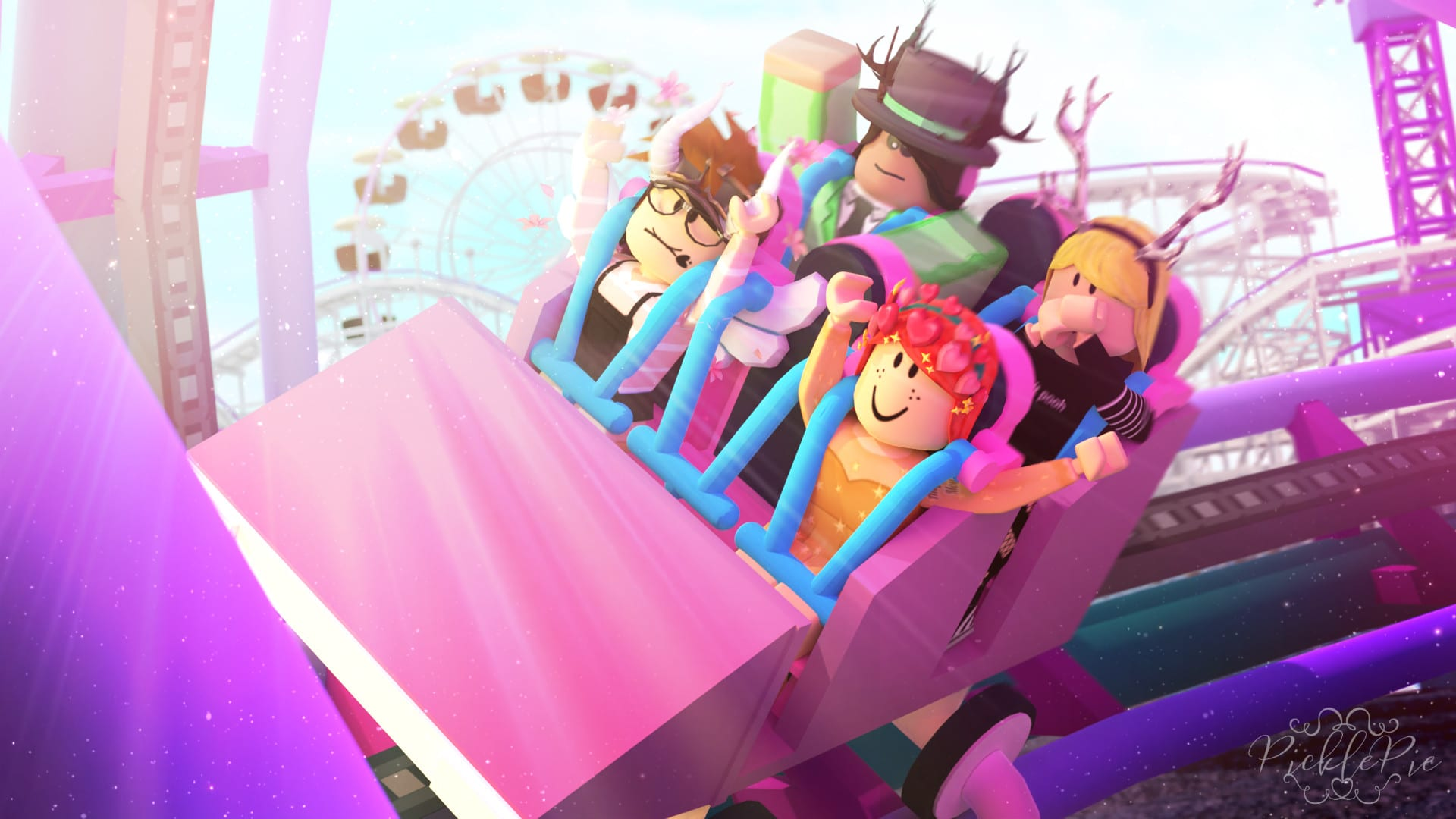 Cute Aesthetic Roblox Gfx Roblox Girl Pictures Make You A High Quality Roblox Gfx By Picklepieyt