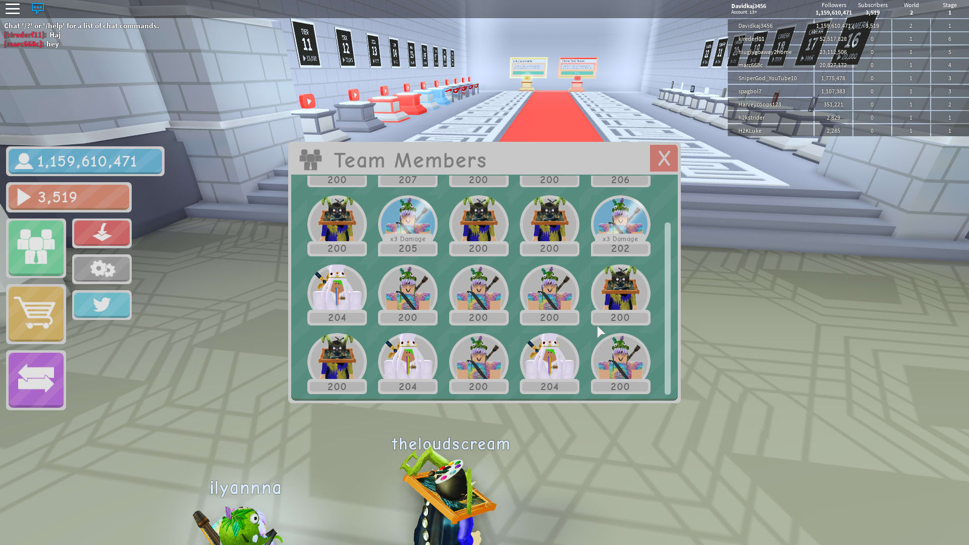 Inventory List Roblox