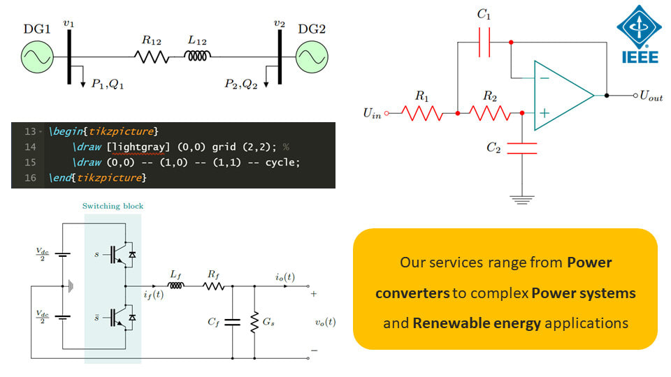 Draw your electric circuit diagrams in latex by Msdezigner | FiverrFiverr