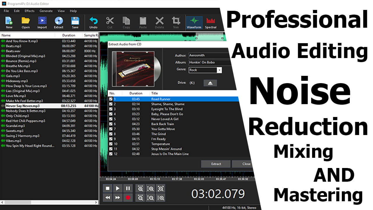 do professional audio editing and noise reduction vocals