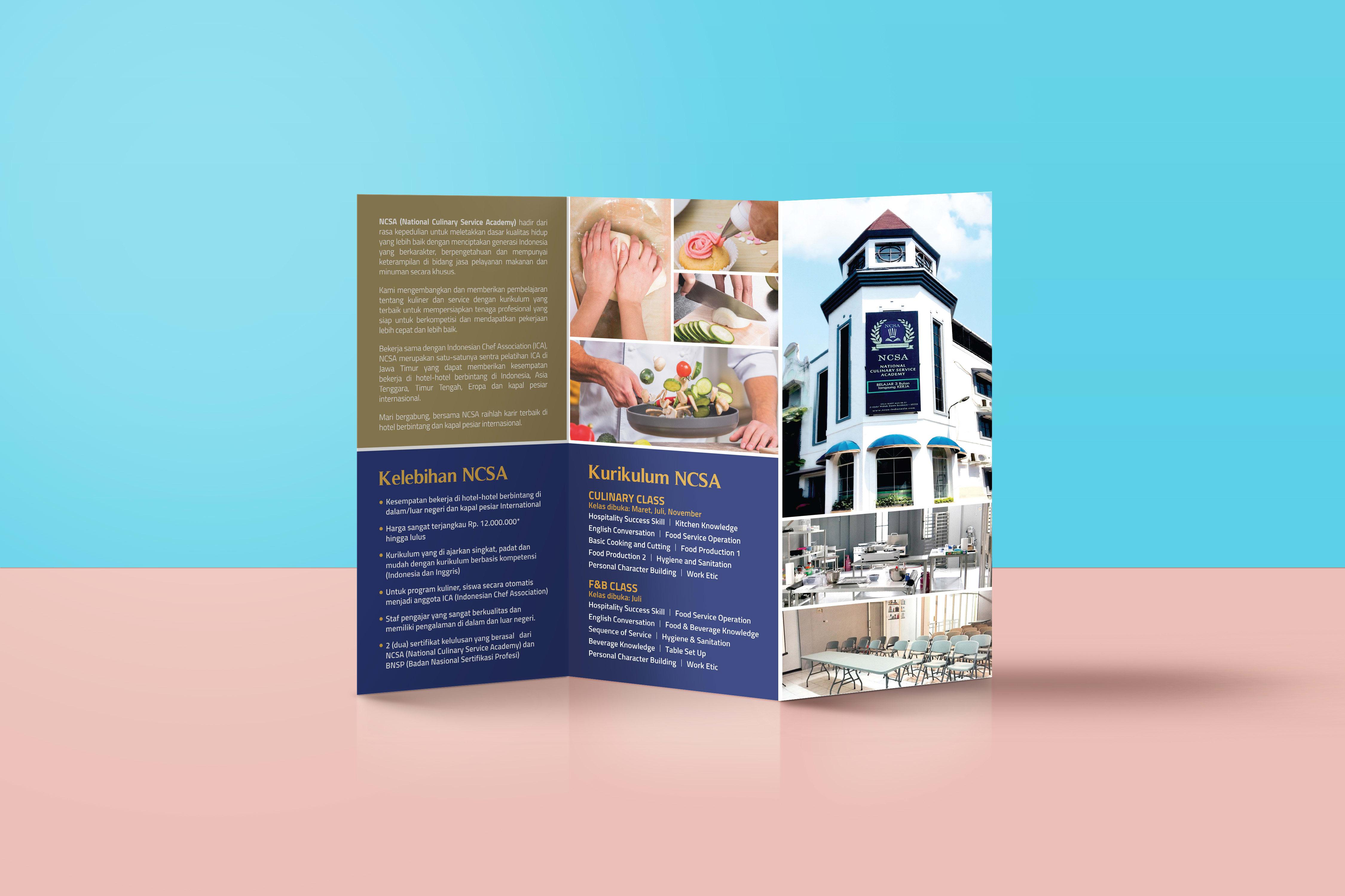Create Professional Trifold Brochure Design By Yudhaarivindi