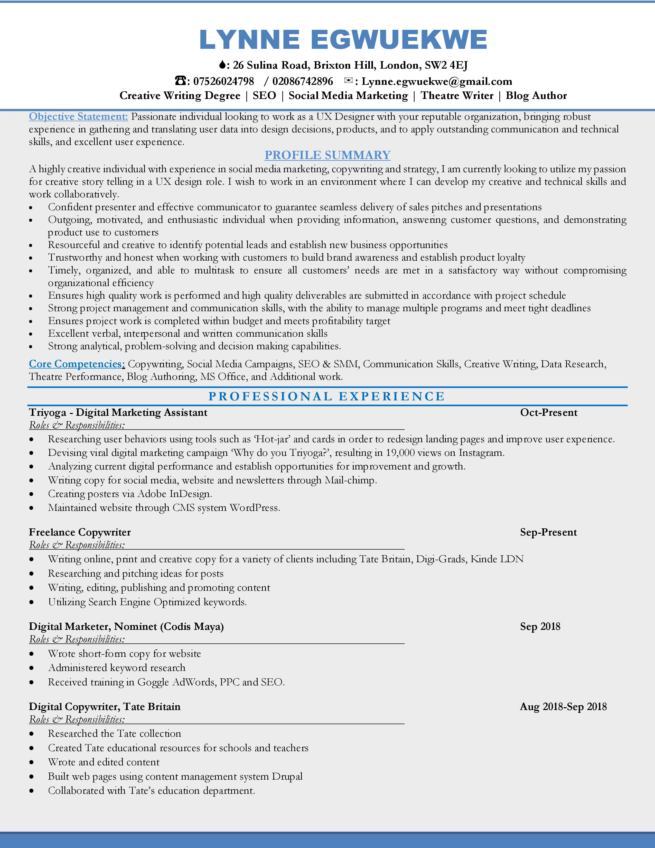 Edit Write Your Nursing Resumes CV And Cover Letter