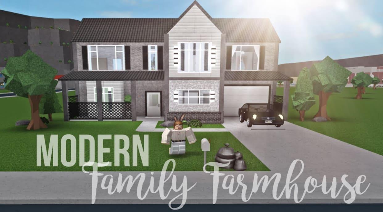 Build You A House On Bloxburg By Dadneymartinez