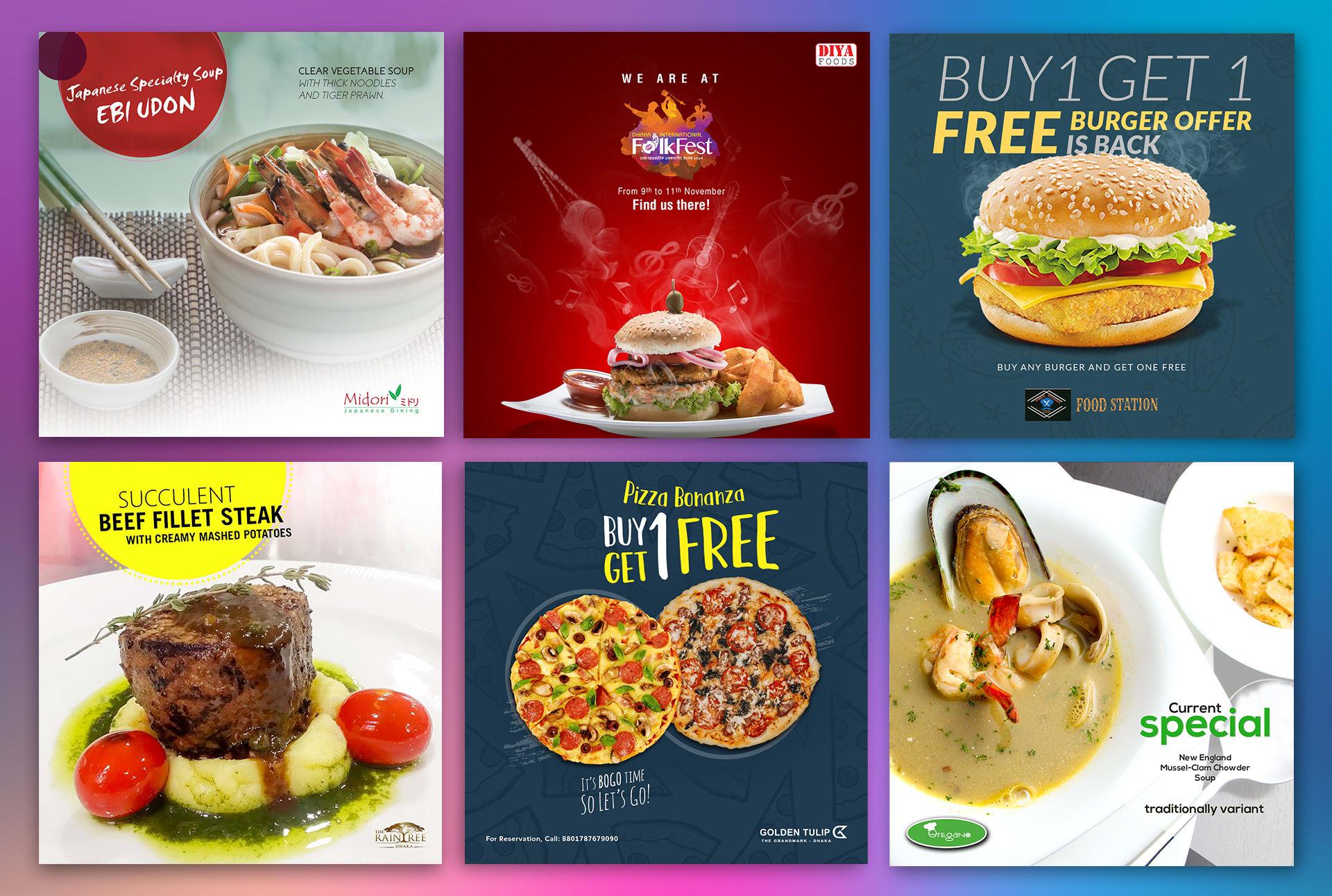Design Food Promo Post For Social Media Facebook Instagram By Rafiqurrahman