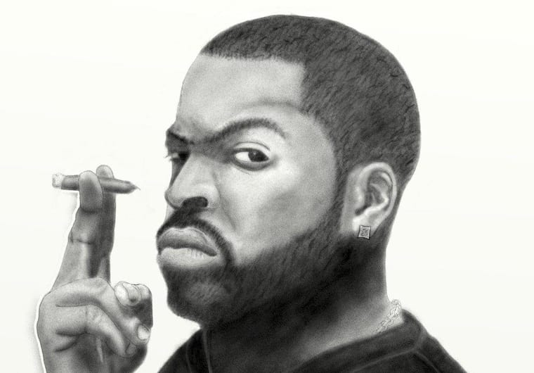 Send You 5 Digital Drawings Of Famous Rappers Hd So Good To Print