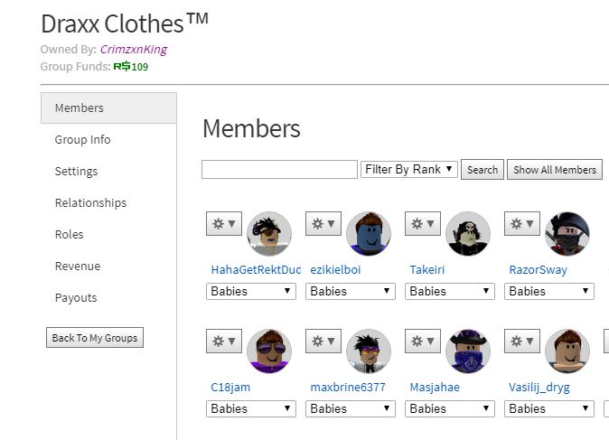 Groups That Give Robux Make U Owner Of My Roblox Group Which Makes Robux Daily By Crimzonking