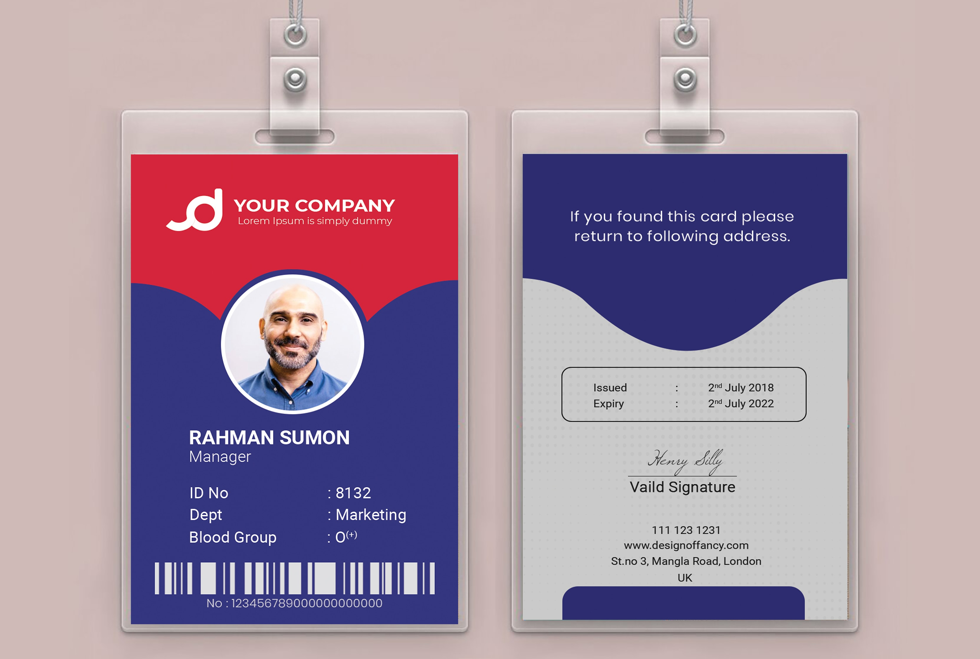 Company Id Card Format from fiverr-res.cloudinary.com