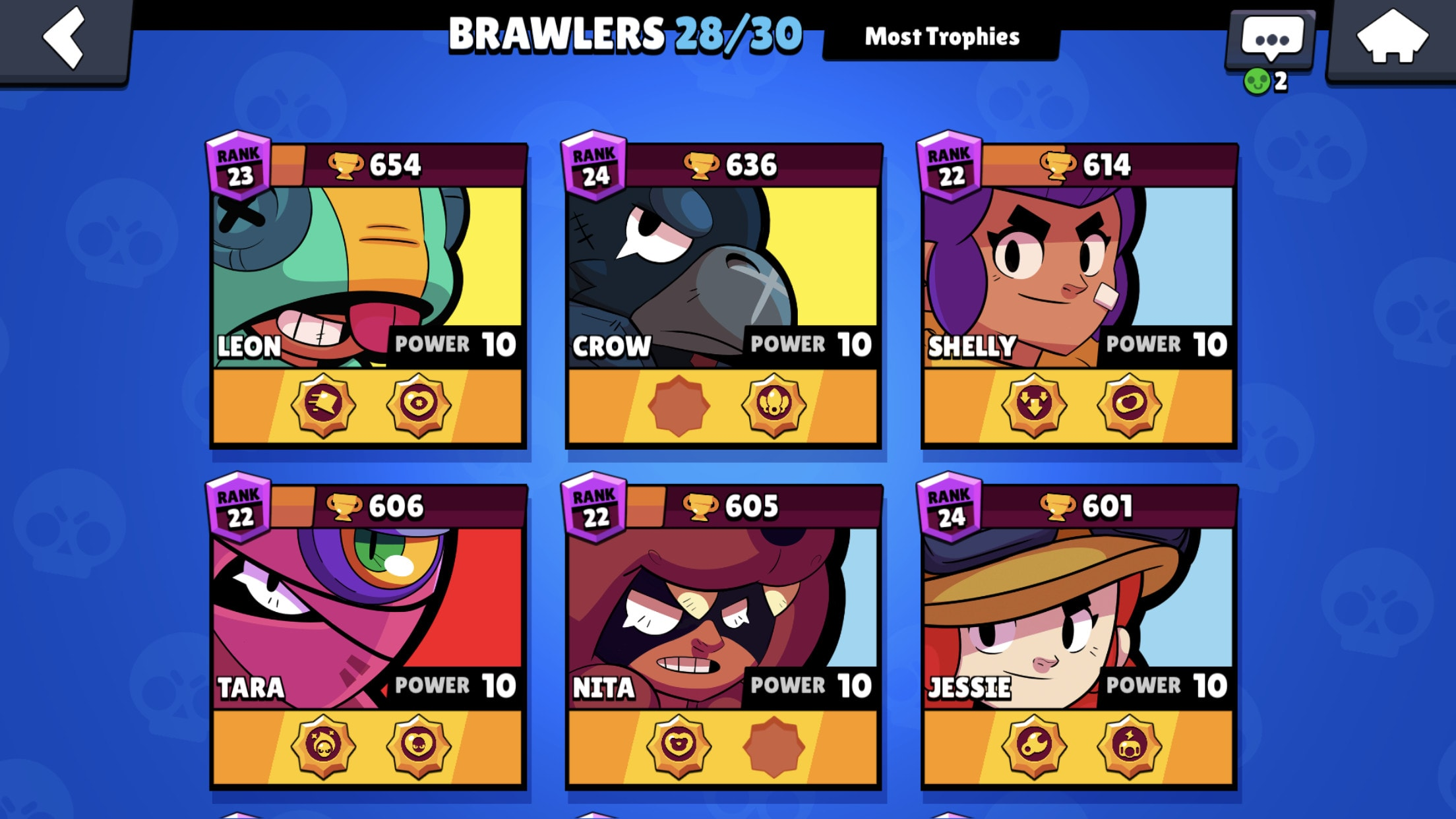 Push trophies in brawl stars by Swagner360