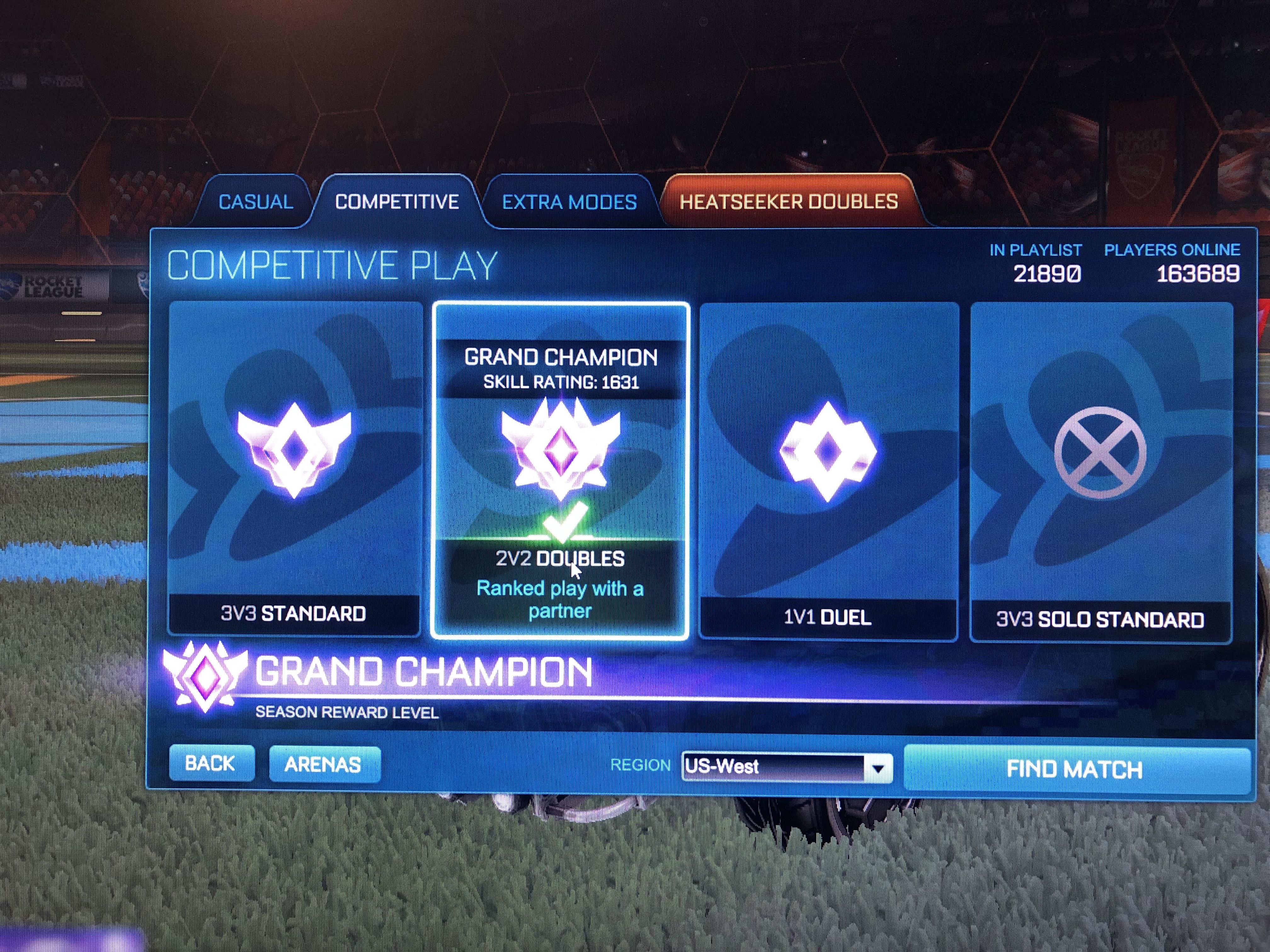 Rocket league rank check