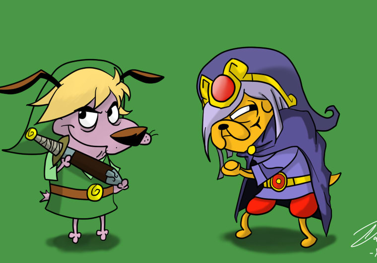 Draw A Pairing Of 2 Of Your Favorite Cartoon Network Characters By