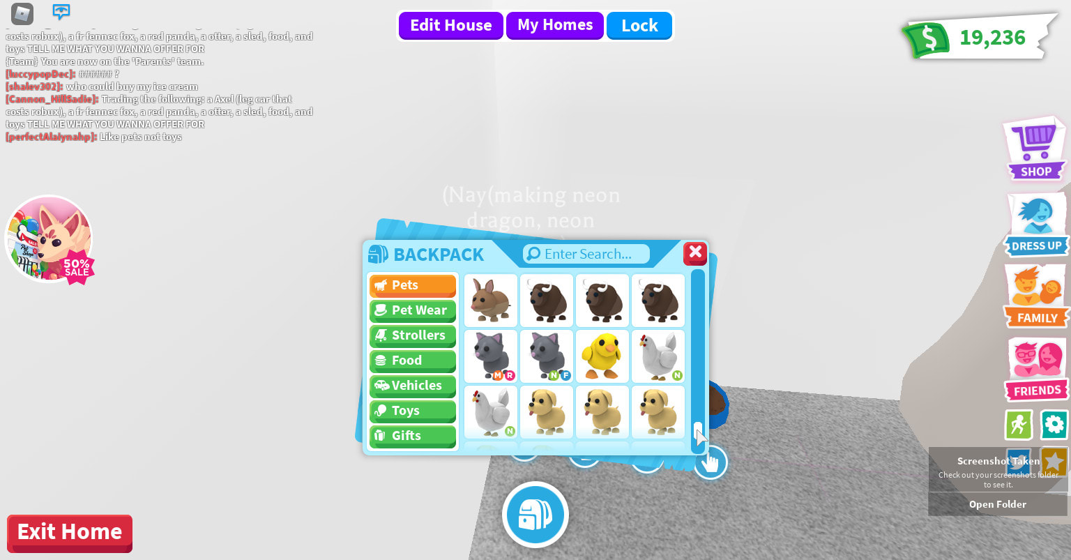 Make Your Pet Mega Neon In Adopt Me By Mysbread