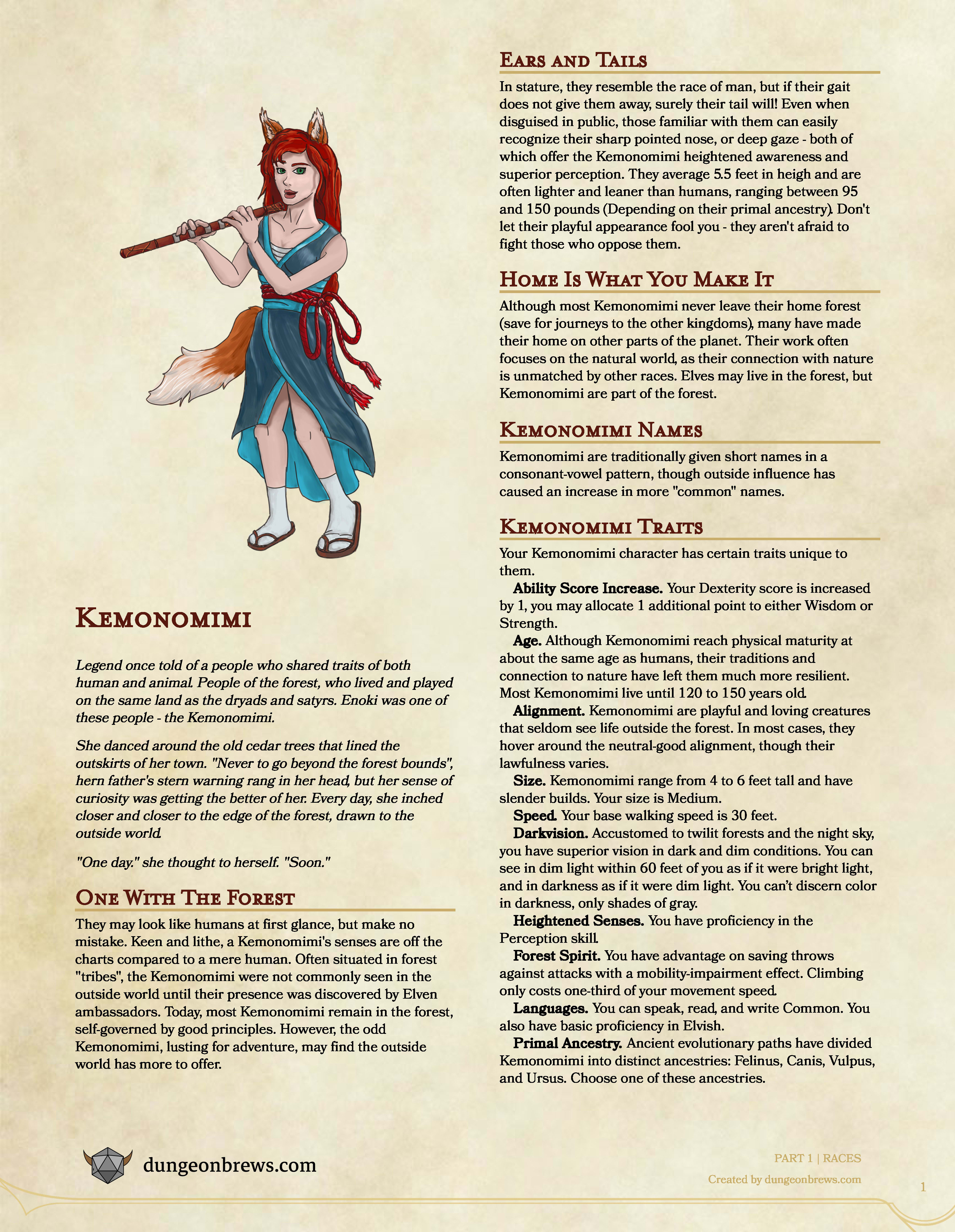 Create Custom Homebrew Classes Races Items And More For Dnd 5e By Twongers