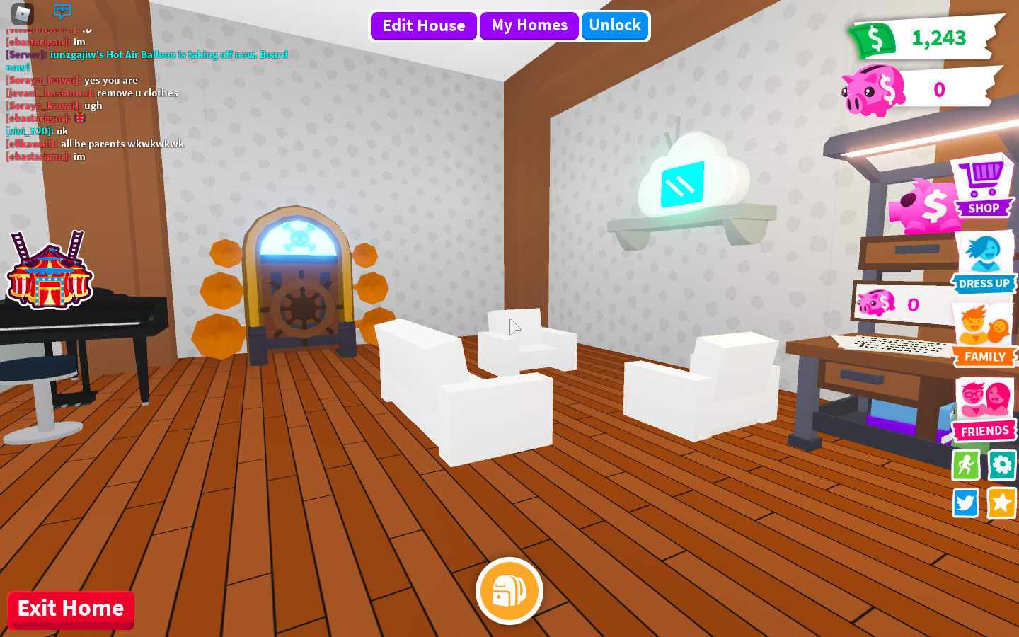 Decorate Your House In Adopt Me Roblox By Glorianneganda