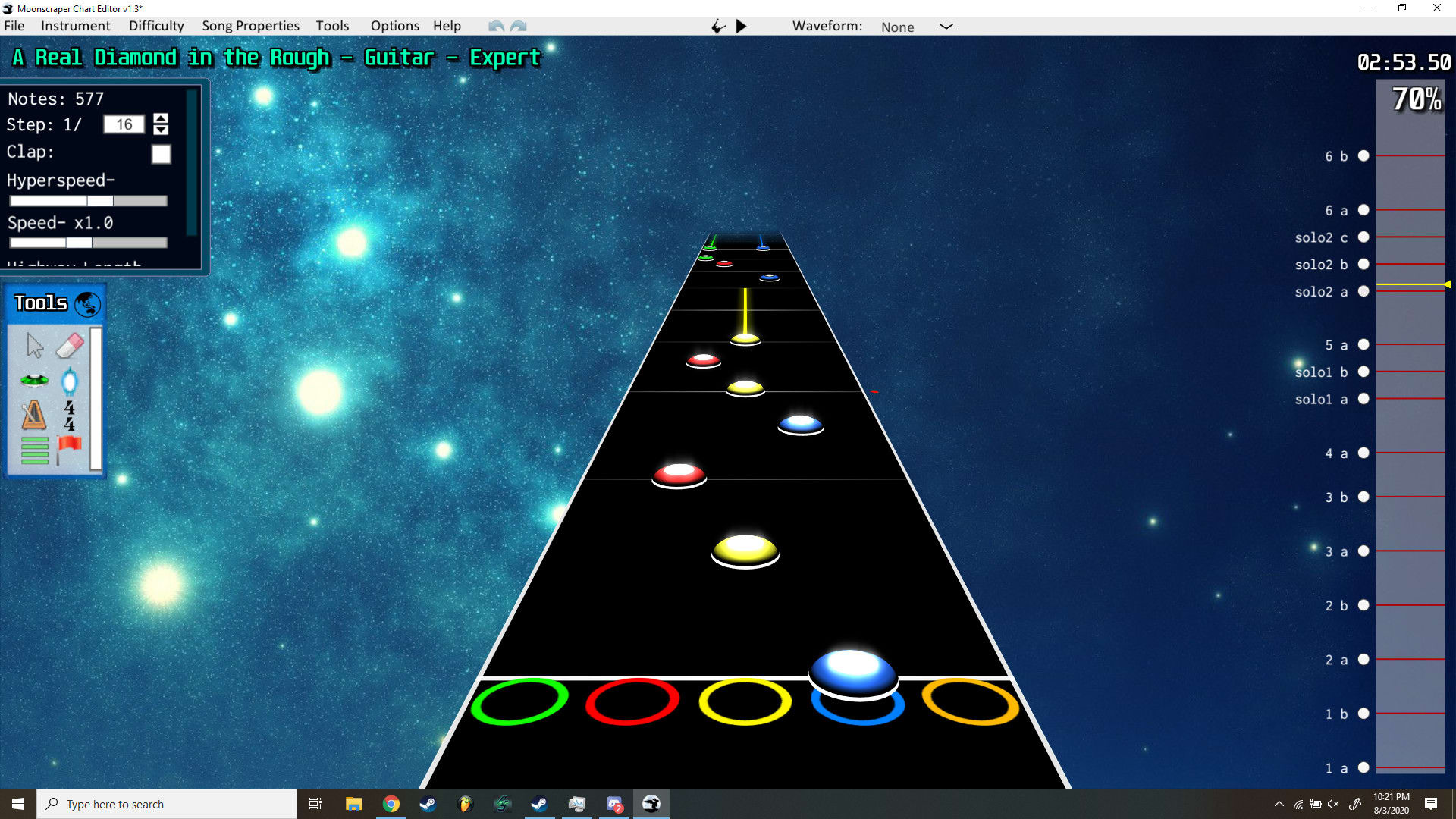 Chart Any Song You Want In Clone Hero By Jvashko