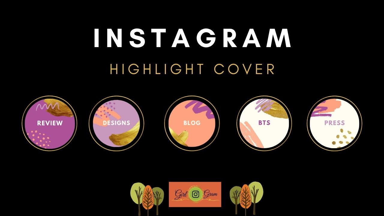 Design Instagram Story Highlight Icon Or Animated Cover By The Girlgram