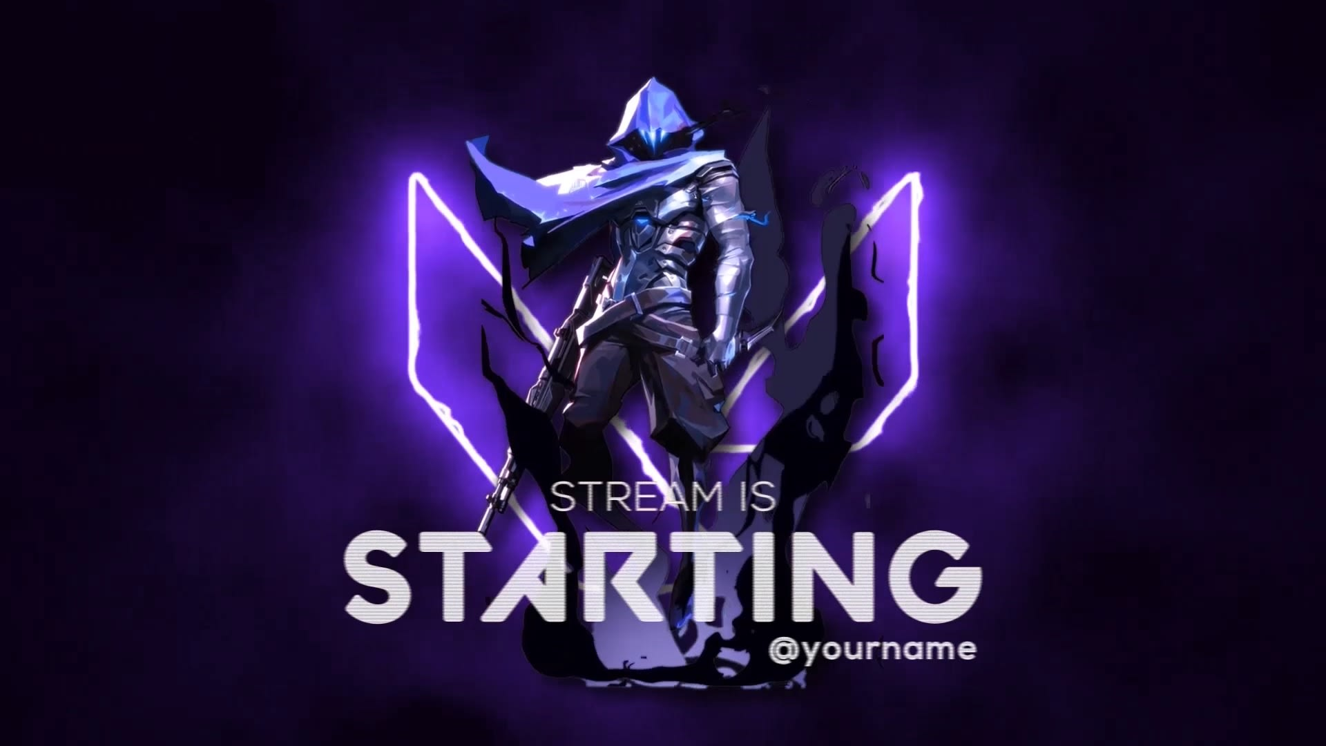 Create An Animated Stream Starting Soon Screen For Streaming By Paul Creations