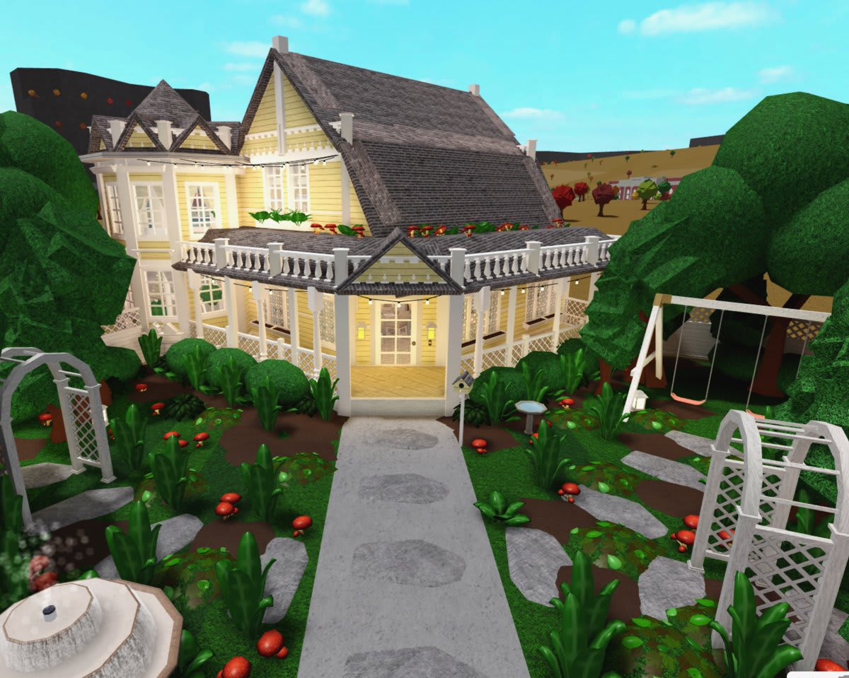 Curate The Exterior Of Your Bloxburg House By Jacksilver Fiverr
