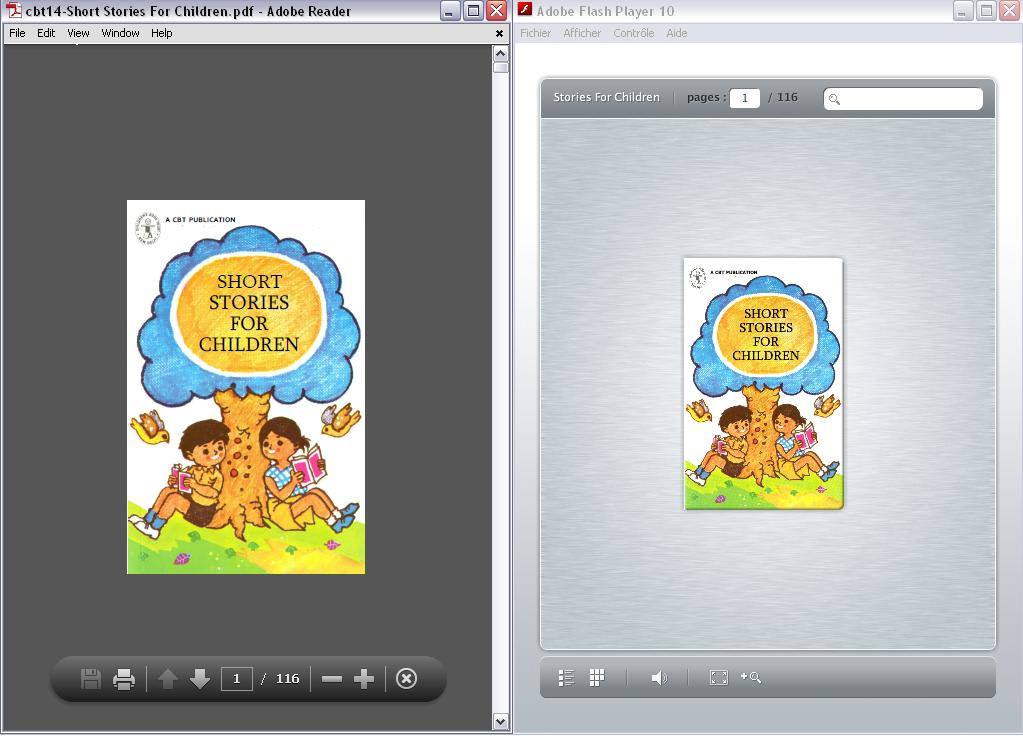 convert your PDF file to flipbook