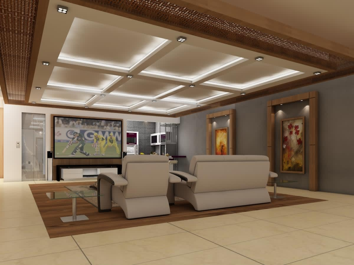 Design False Ceiling In A New Creative Way By Umer08