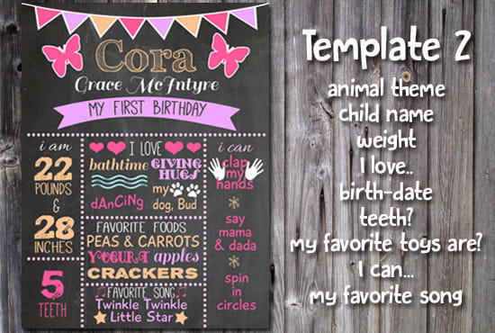 1St Birthday Poster Template from fiverr-res.cloudinary.com