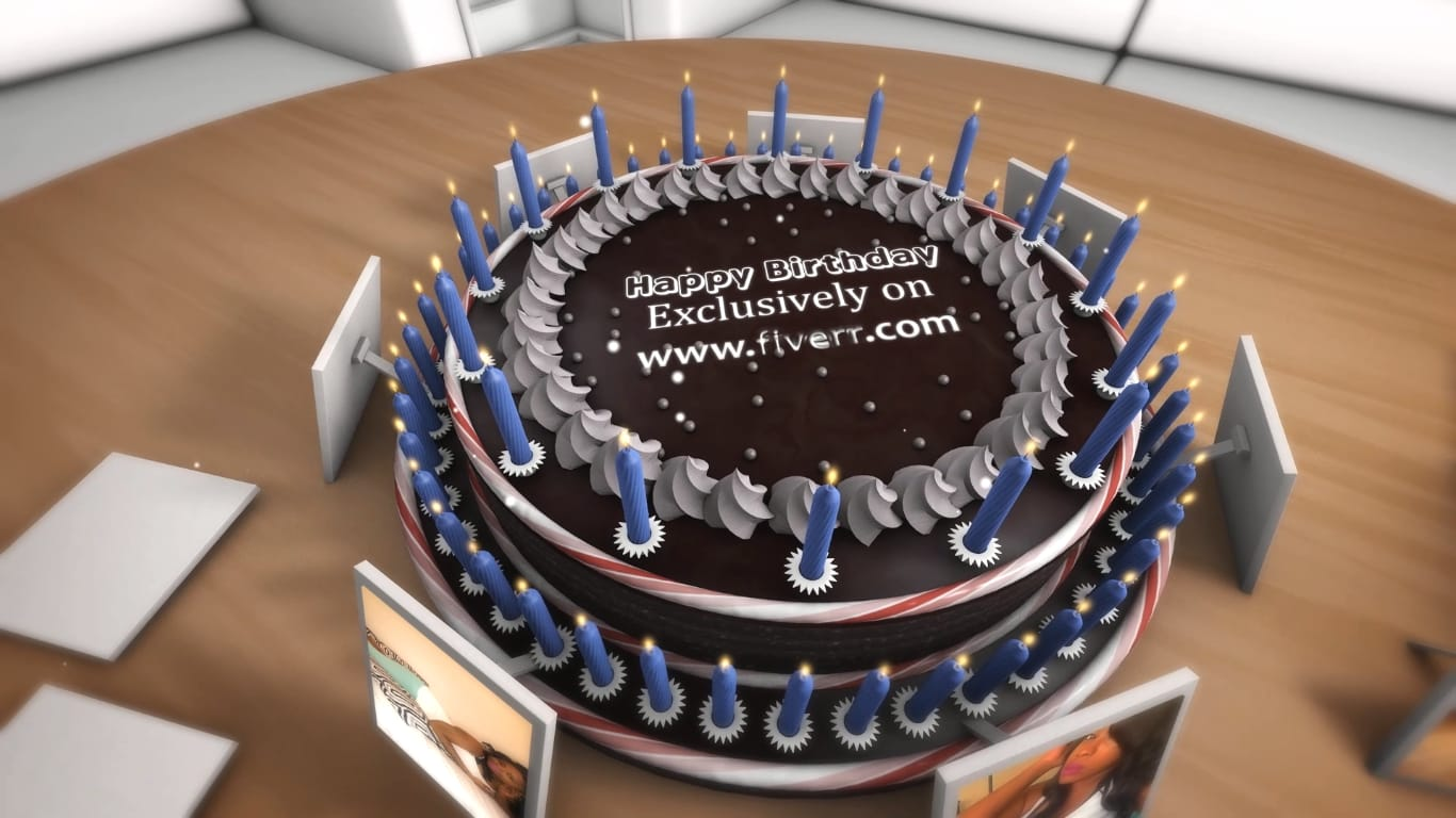 Create animated happy birthday video by Starquality7