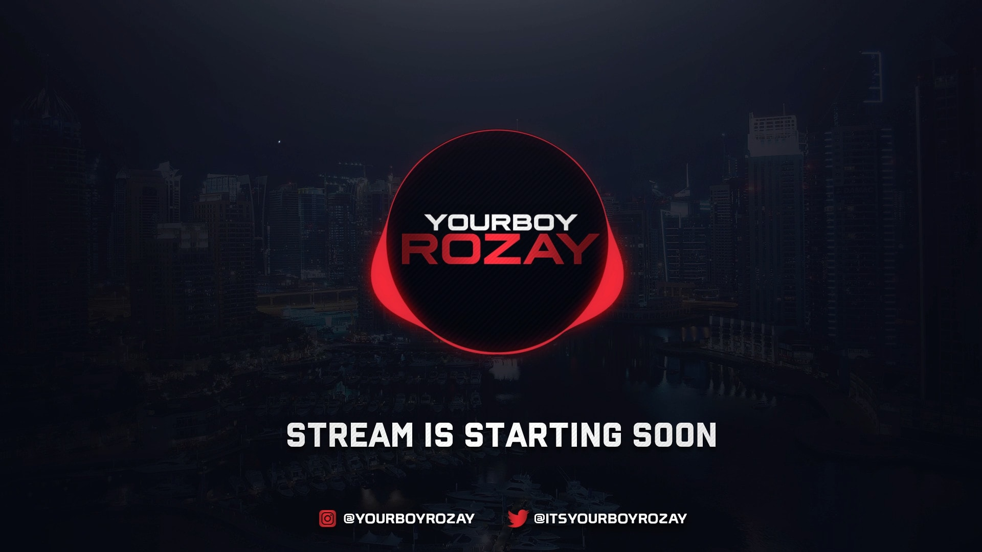 Create An Animated Stream Starting Soon Screen For Twitch By Cstarkana