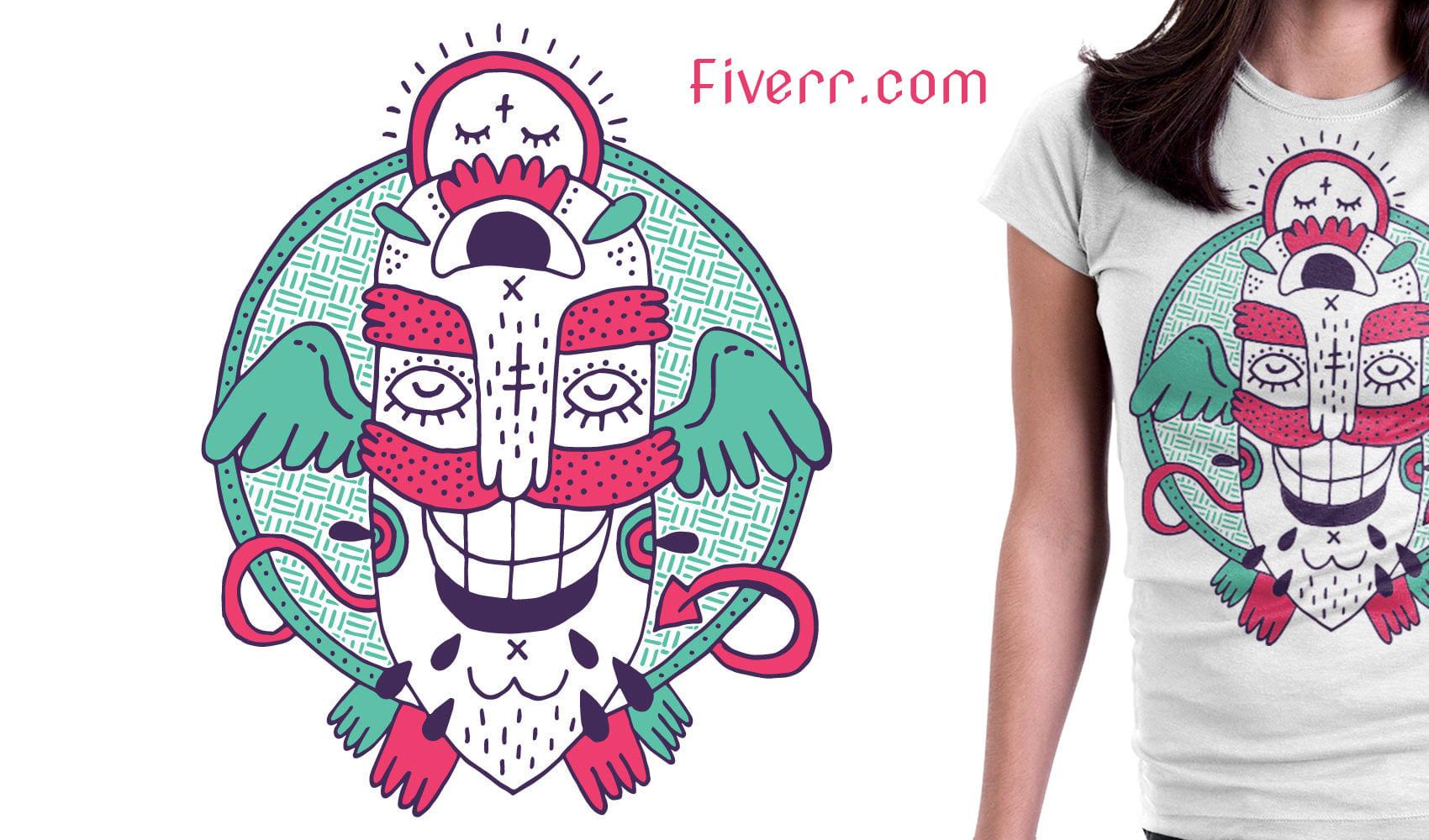 83ec030fce2 Create custom t shirt design by Designertufan