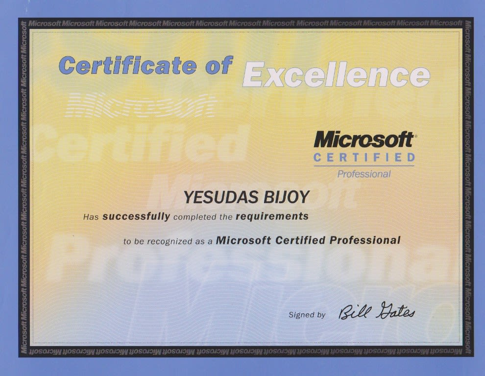 Microsoft Certified System Engineer By Psyaura